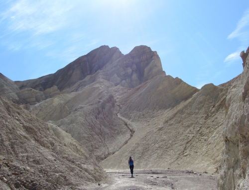 Hiking in the Panamint Range