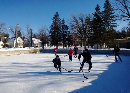 Champlain Park hockey